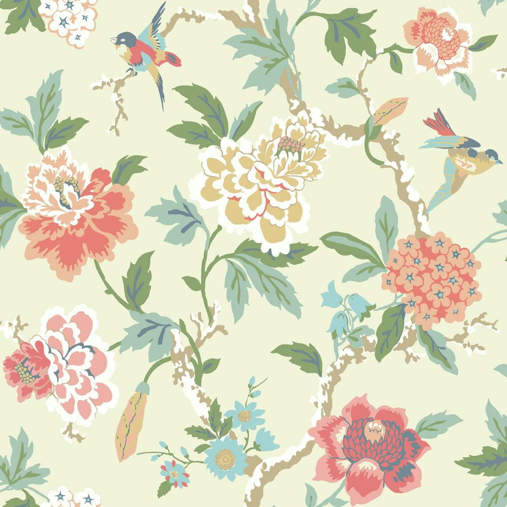 York Wallcoverings Waverly Candid Moment Wallpaper-GP5905