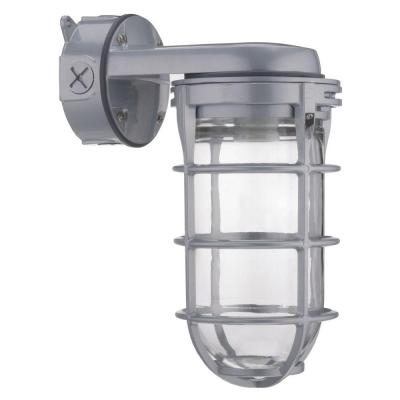 150W Incandescent Utility Vapor Tight Wall Lantern Sconce Fixture