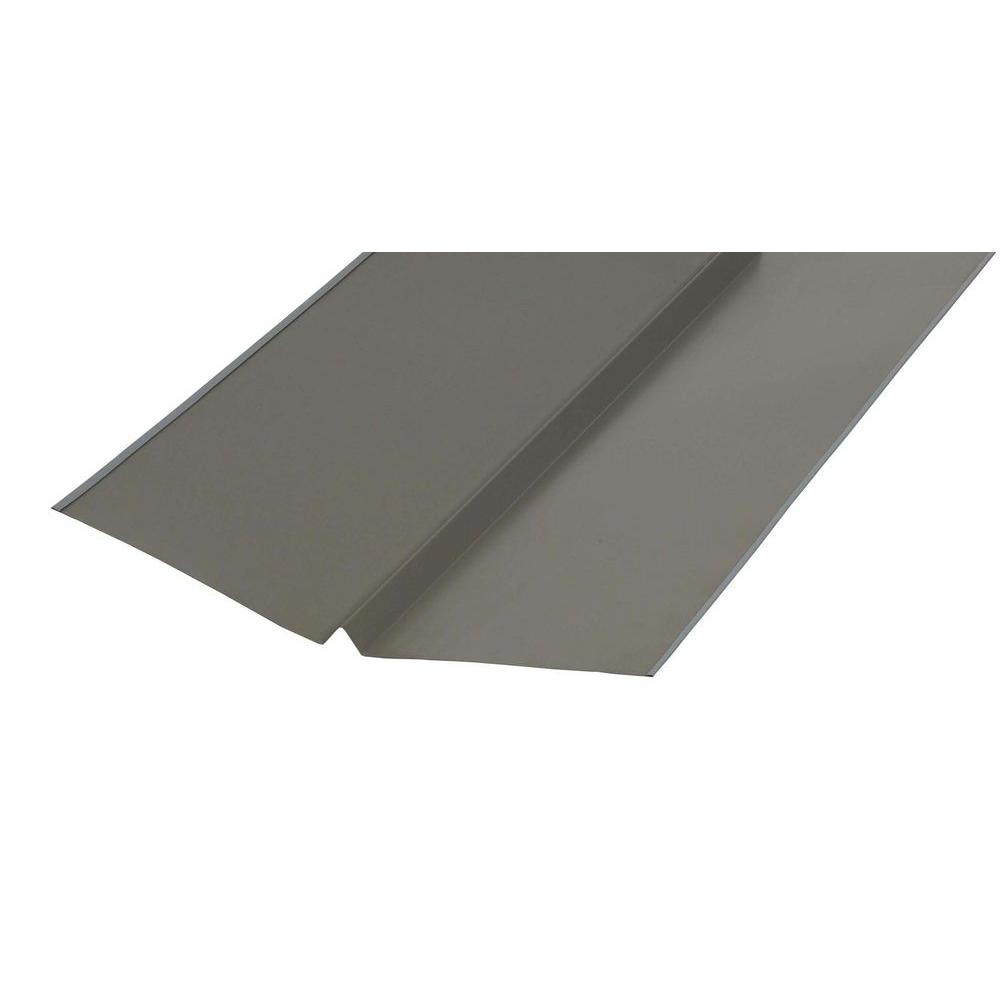 Amerimax Home Products 20 In. X 10 Ft. Galvanized Bronze W Valley Flashing