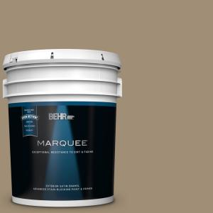 Behr Marquee 5 Gal Ecc 17 1 Cottage Walk Satin Enamel Exterior Paint And Primer In One 945305 The Home Depot