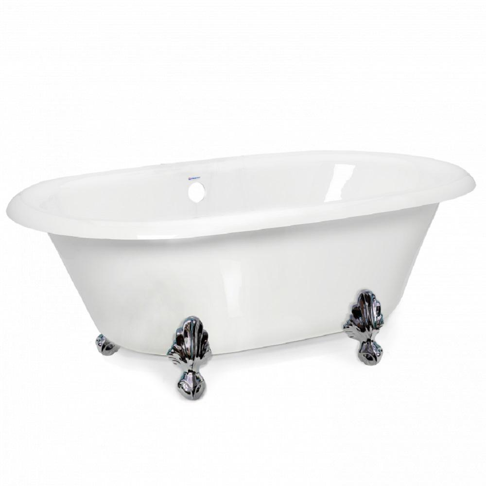 American Bath Factory 70 In Acrastone Acrylic Double
