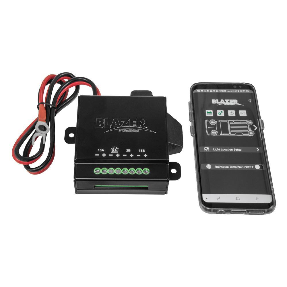 Blazer Link App Controlled Lighting System