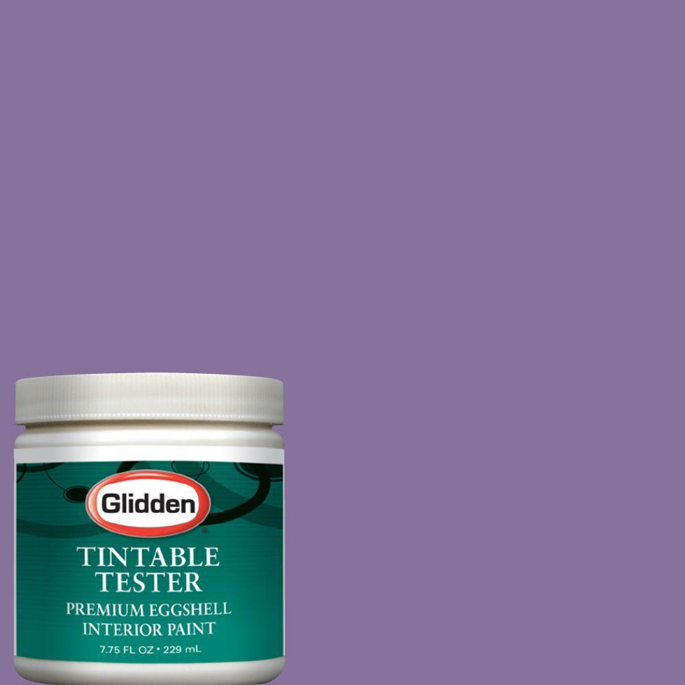 Glidden Premium 8 oz. Morning Heather Interior Paint Tester