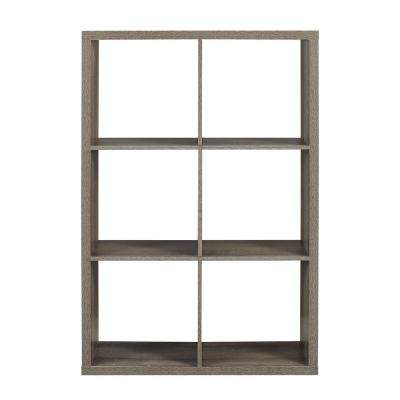 Dillon Grey 6- Cubby Storage Cabinet