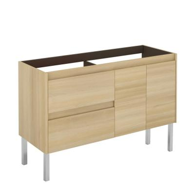 Ambra 47.5 in. W x 17.6 in. D x 32.4 in. H Bath Vanity Cabinet Only in Nordic Oak