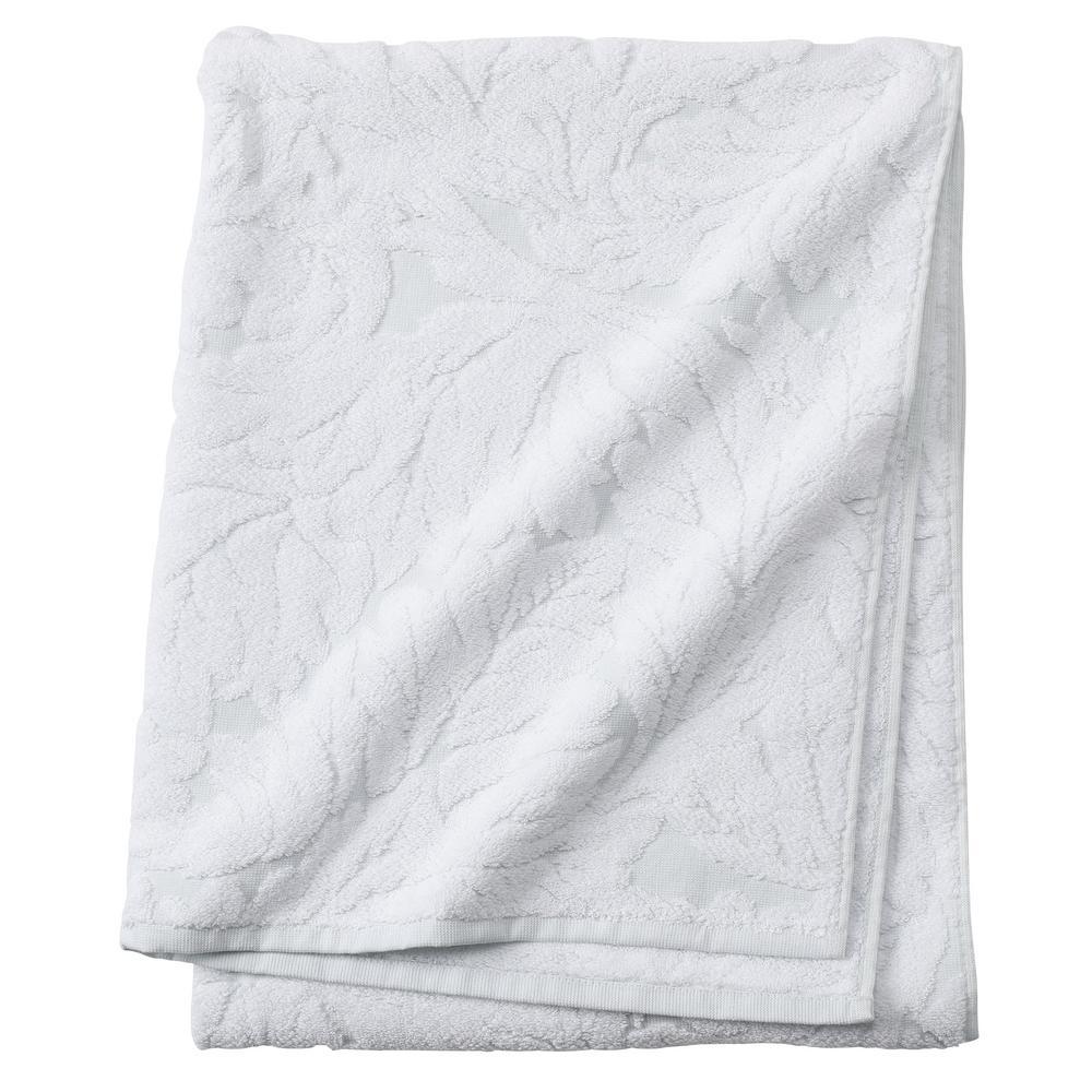 Faro 1-Piece Bath Towel in Clearwater Blue