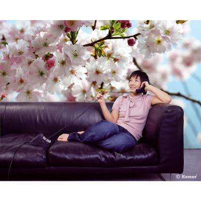 100 in. x 145 in. Spring Blossom Wall Mural