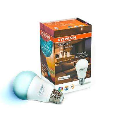 SMART+ Bluetooth 60W Equivalent Full Color A19  LED Light Bulb