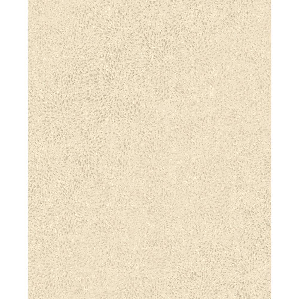 Mezzo Gold Floral Wallpaper Sample