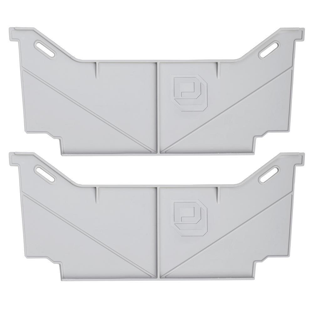 Wide Drawer Divider Set for Decked Pick Up Truck Storage System (2-Pack)