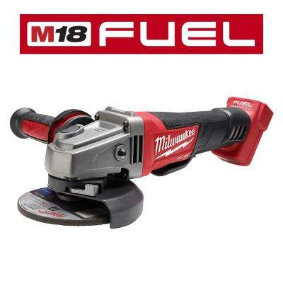M18 FUEL 18-Volt Lithium-Ion Brushless Cordless 4-1/2 in. /5 in. Grinder W/ Paddle Switch (Tool-Only)