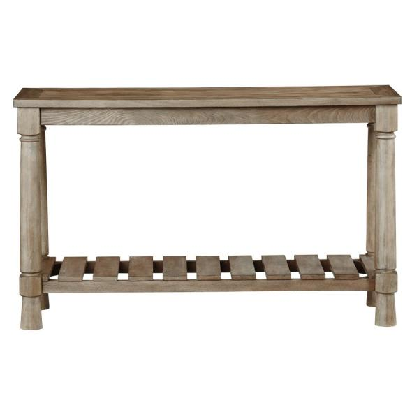 Chastain Park Weathered Linen Console/Sofa Table