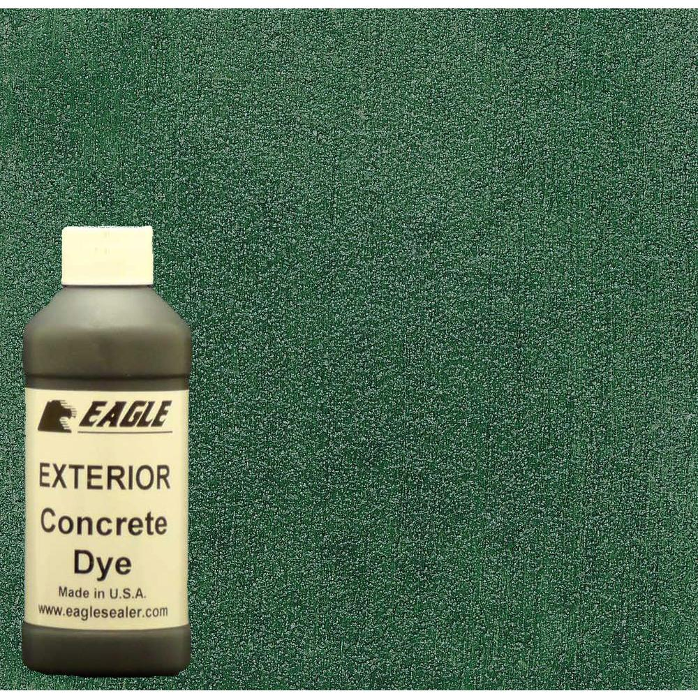Eagle 1-gal. Cactus Exterior Concrete Dye Stain Makes with Acetone from 8-oz. Concentrate