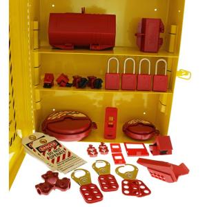 Click here to buy Ideal Industrial Lockout/Tagout Station by Ideal.