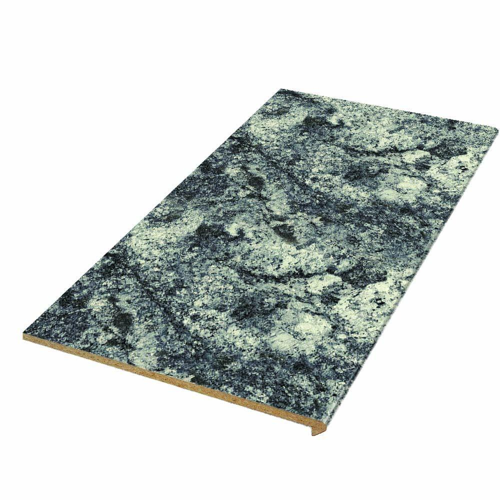 Tiburon 96 in. x 25.5 in. Single Roll Laminate Countertop in