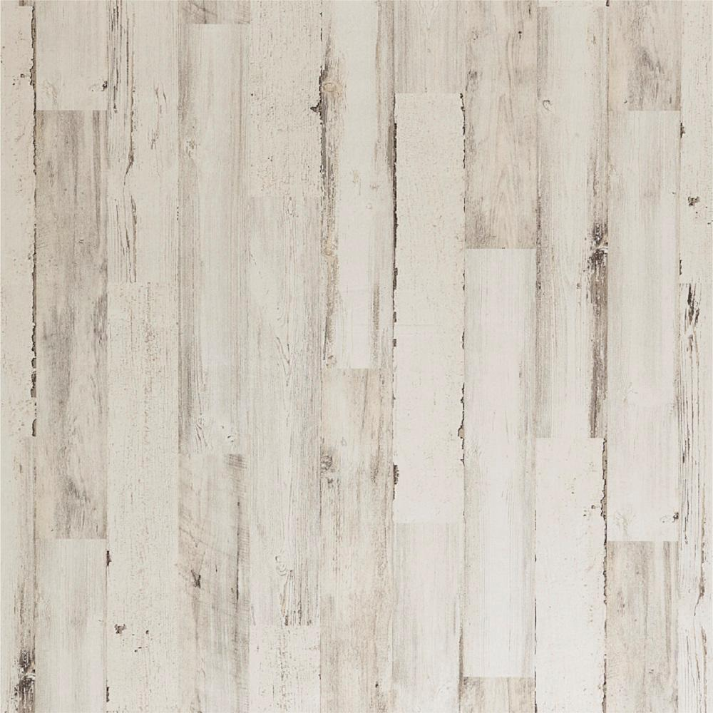 32 sq. ft. White Paint Pine MDF Panel