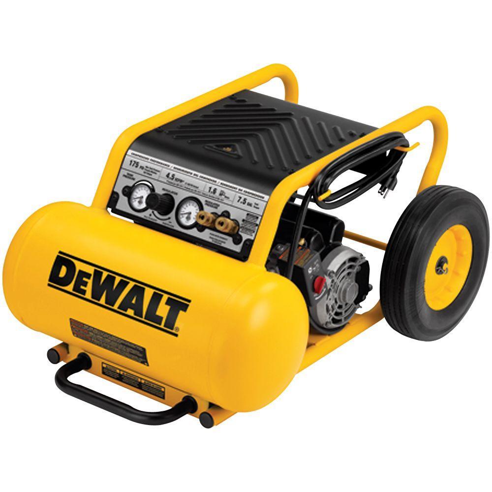 DEWALT 7.5-Gal. Portable Electric Air Compressor
