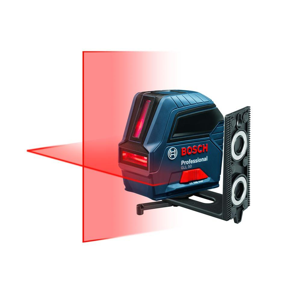 bosch 50 ft. self leveling cross line laser level-gll 50 - the home