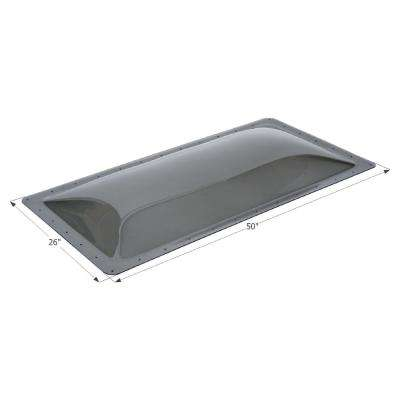 Standard RV Skylight, Outer Dimension: 26 in. x 50 in.