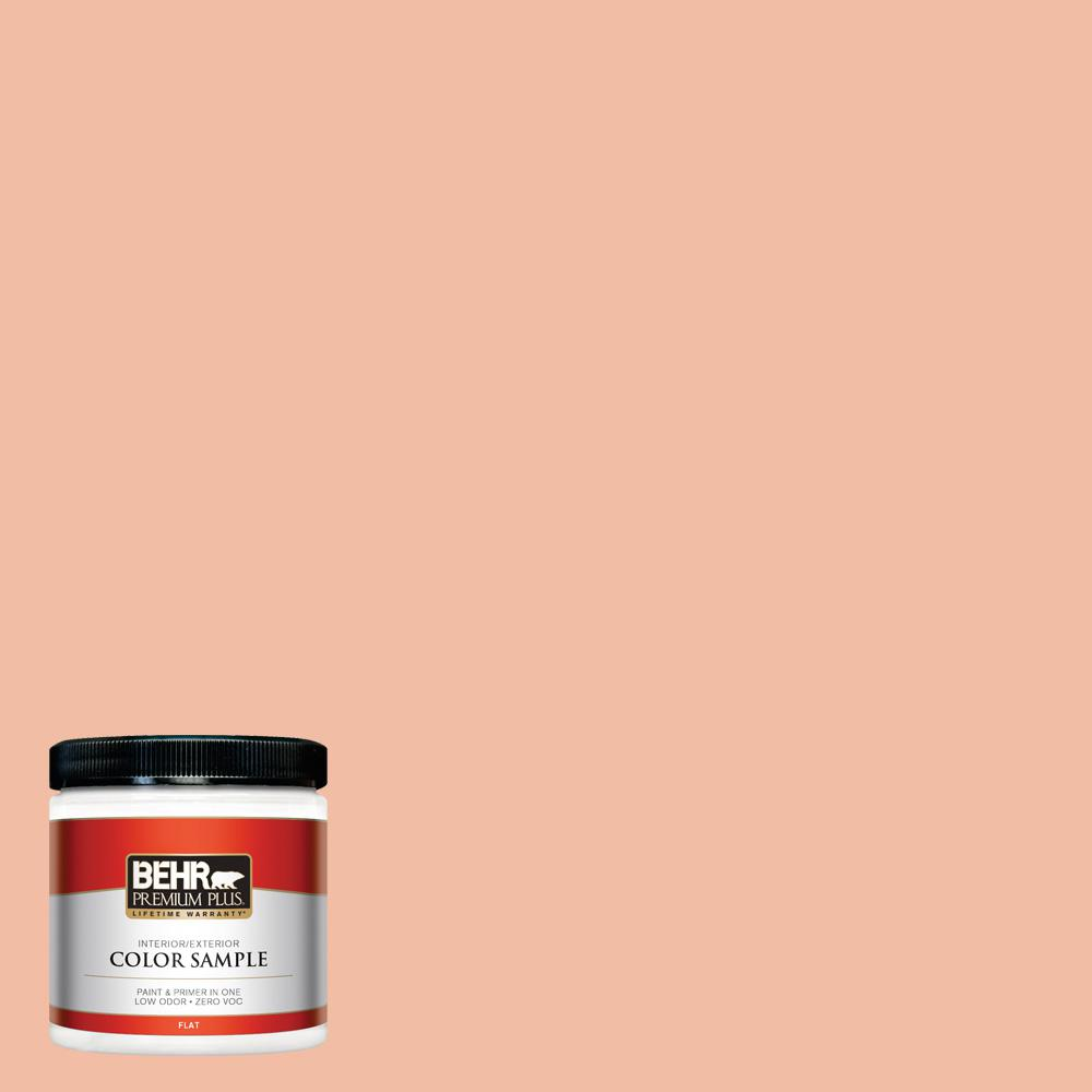 8 oz. #HDC-SP14-4 Heirloom Apricot Interior/Exterior Paint Sample