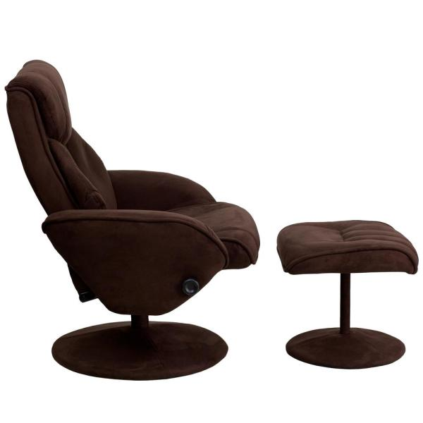 Flash Furniture Brown Recliner CGA BT 16667 BR HD The Home