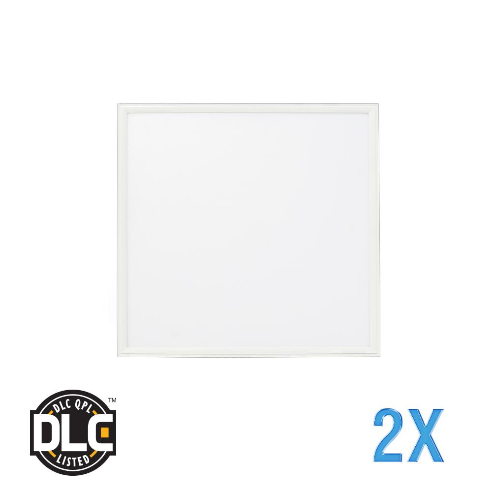 2 ft. x 2 ft. Flat Panel 5000K 120-Watt Equivalent White