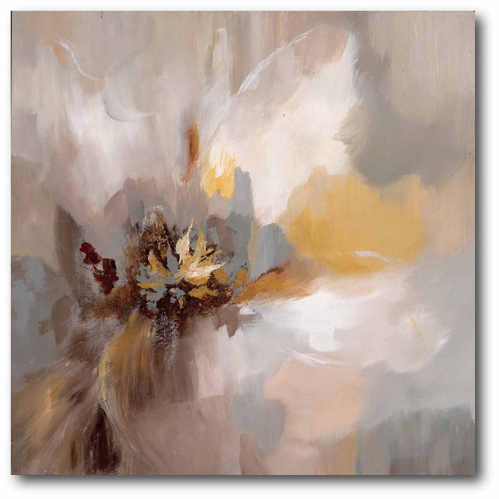 Courtside Market Petals Whisper 24 in. x 24 in. Gallery-Wrapped Canvas Wall Art, Multi Color was $115.0 now $64.03 (44.0% off)