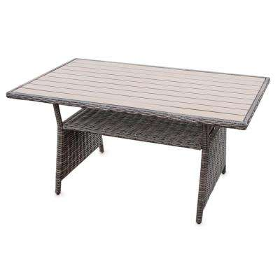 Cherry Hill Plastic Outdoor Dining Table
