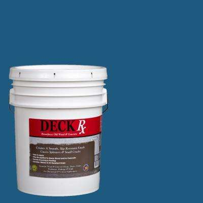 Deck Rx 5 gal. Blue Wood and Concrete Exterior Resurfacer
