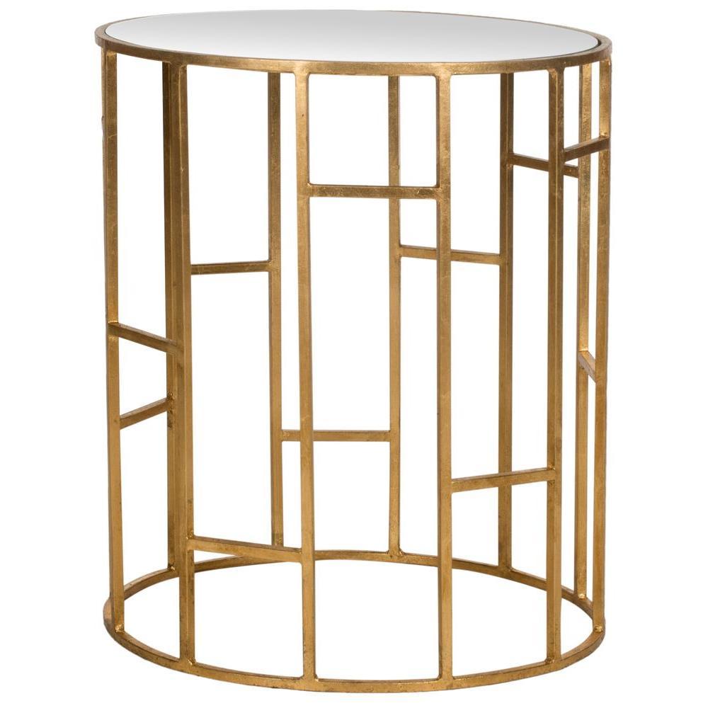Safavieh Doreen Gold End Table