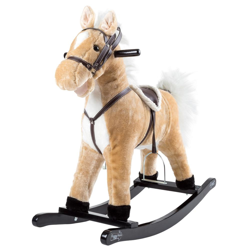 Happy Trails Plush Rocking Ricky The Horse M400002 The