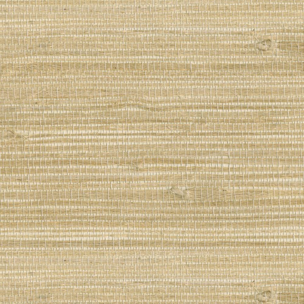 Myoki Wheat Grasscloth Wallpaper Sample