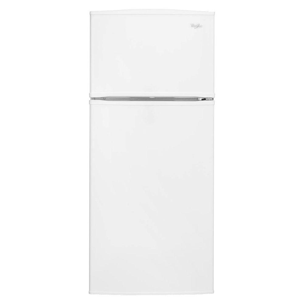 Whirlpool 28 in. W 16 cu. ft. Top Freezer Refrigerator in White