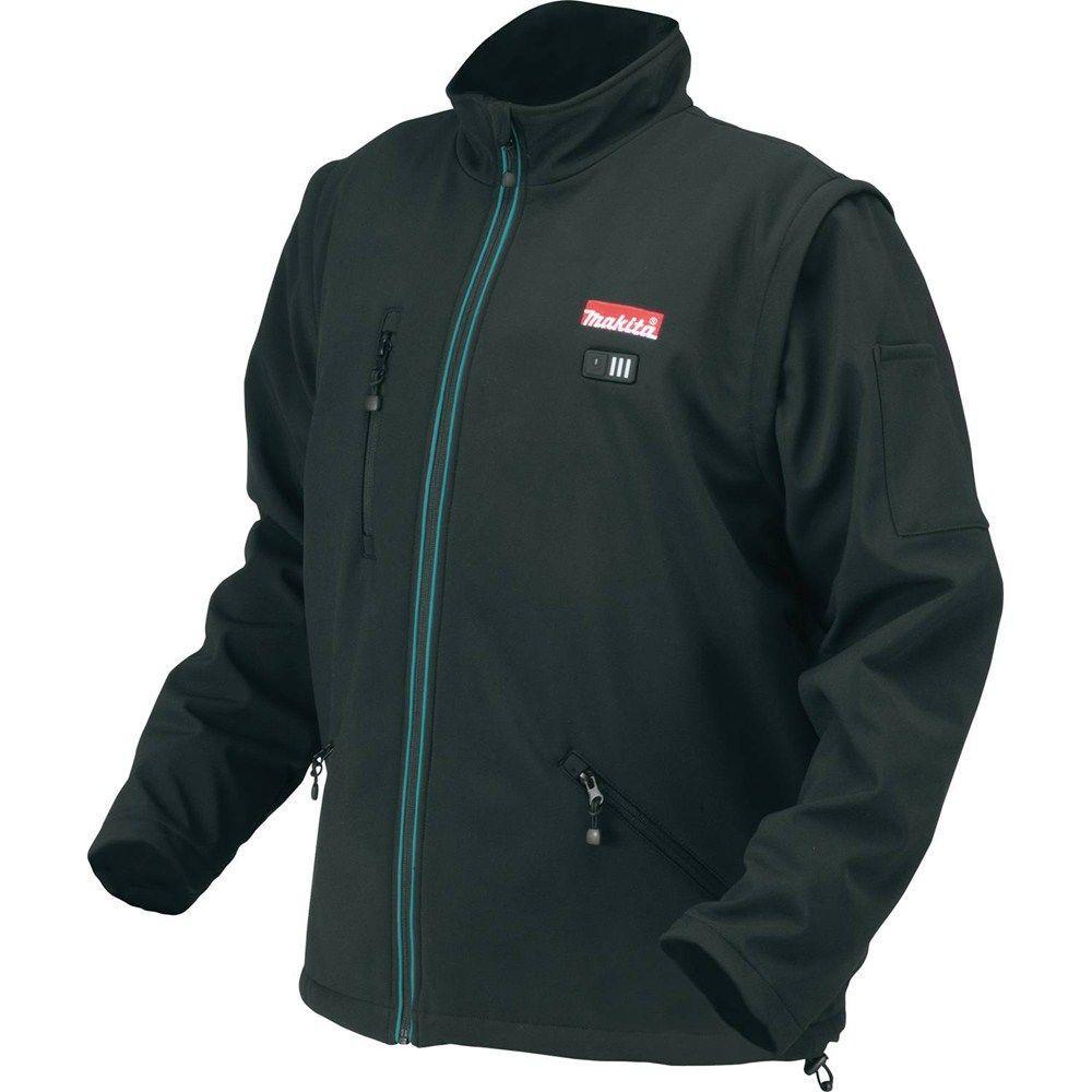 Makita Men's 2X-Large Black 18-Volt LXT Lithium-Ion Cordless Heated Jacket (Jacket-Only)