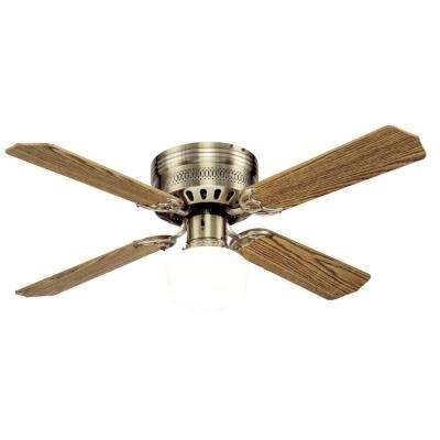 Casanova Supreme 42 in. Antique Brass Ceiling Fan