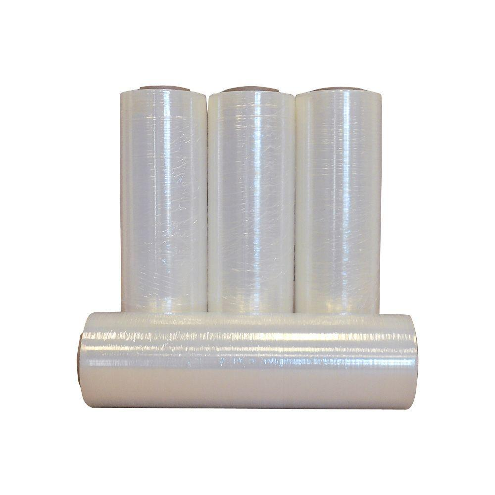 18 in. x 2000 ft. 60 Gauge Stretch Wrap (4-Pack)