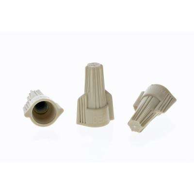 Twister Wire Connectors, 341 - Tan (500-Jar)