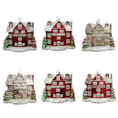 Winter Tidings House Ornament (12-Count)