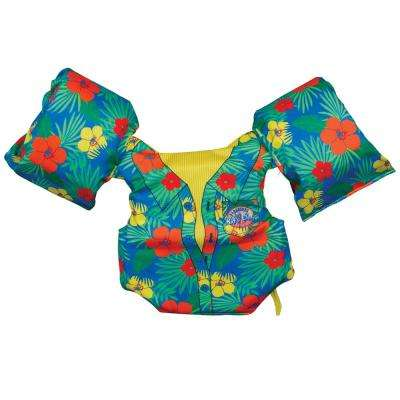 Tropical Swim Gear Kids Float Vest, Recommended 30 lbs. to 50 lbs.