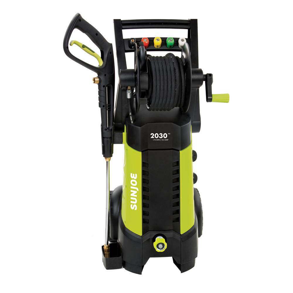 2030 PSI 1.76 GPM 14.5 Amp Electric Pressure Washer with Hose