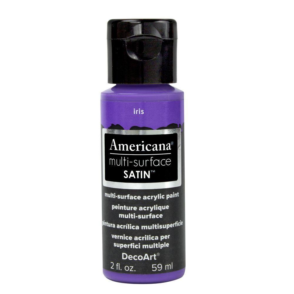 Americana 2 oz. Iris Satin Multi-Surface Acrylic Paint