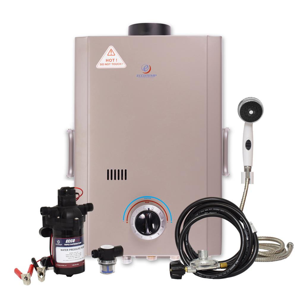 Eccotemp L7 Outdoor Portable Tankless Water Heater Shower