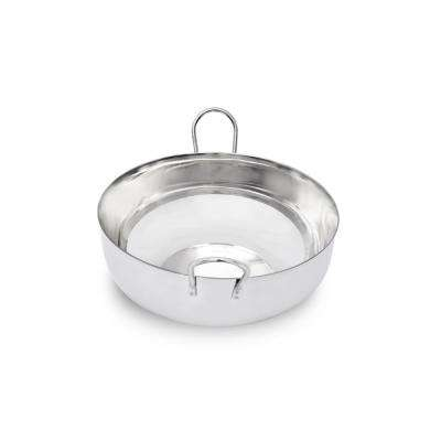 3.25 qt. Stainless Steel Balti Pan