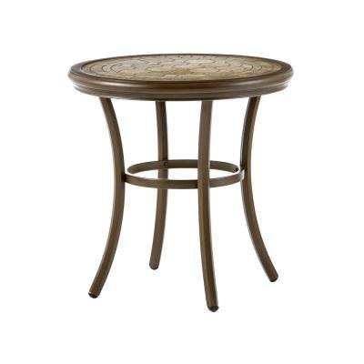 Walton Springs Aluminum Outdoor Bistro Table