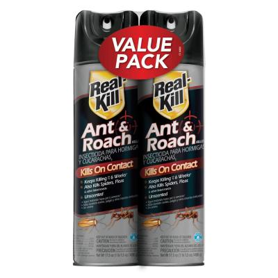 17.5 oz. Ant and Roach Aerosol (2-Count)