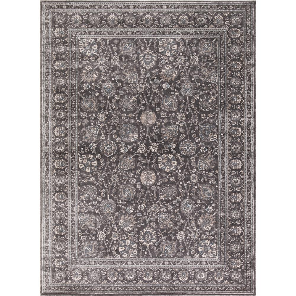 Home Decorators Collection Old Treasures Gray 5 Ft. X 7 Ft