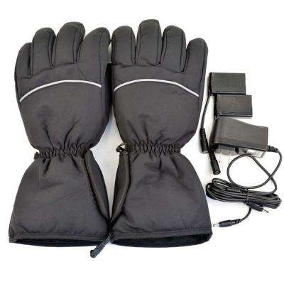 Black Warm Unisex Electric Heated Gloves