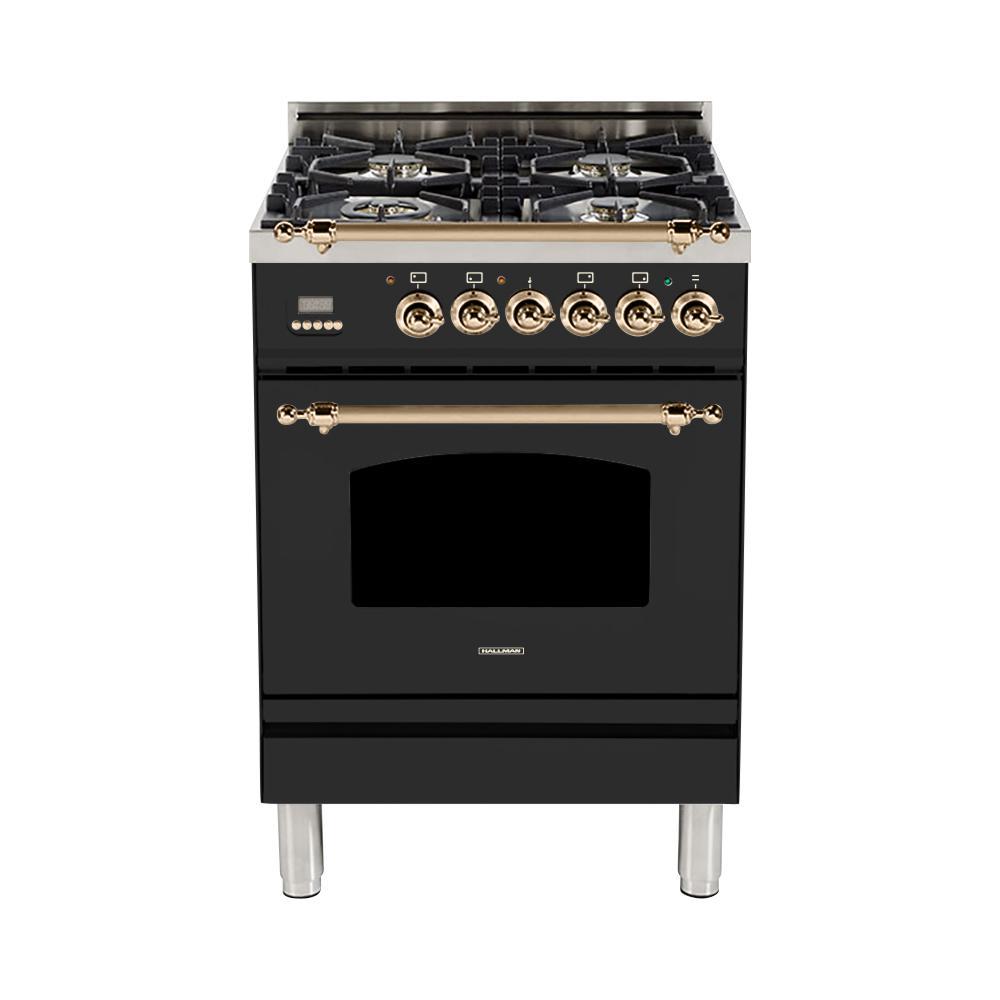 Single Oven Dual Fuel Italian Range With True