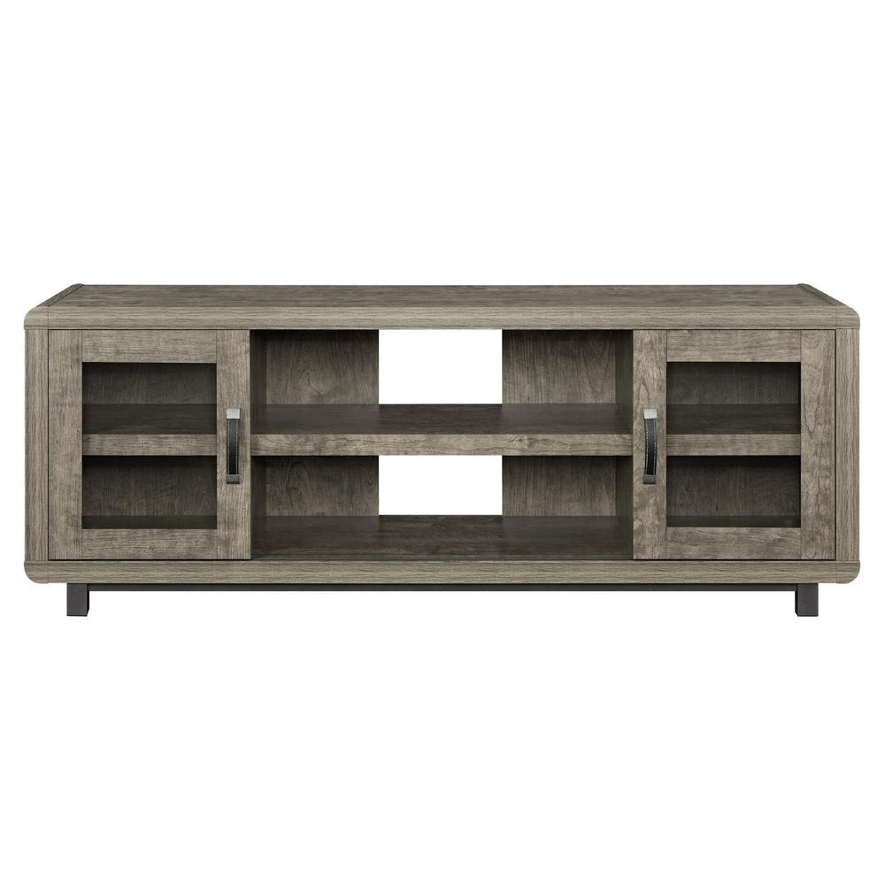 Ameriwood Home St. Charles Brown 55 in. TV Console