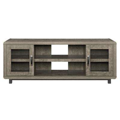 St. Charles Brown 55 in. TV Console